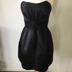 Zac Posen Satin Cocktail Dress
